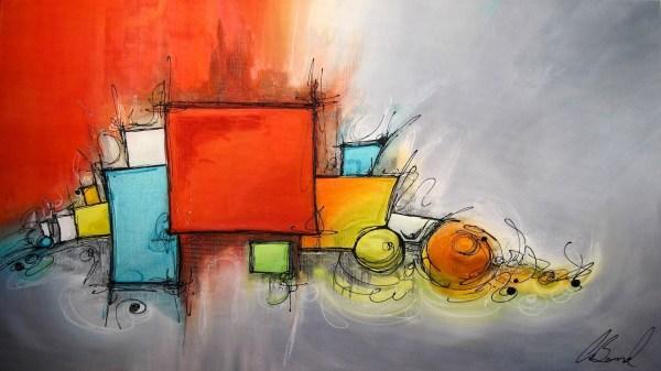 Modern Abstract Art Desktop