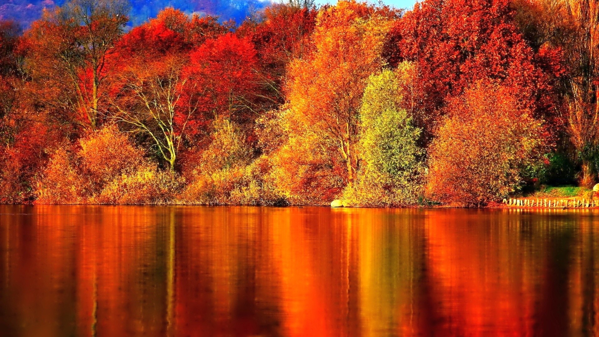 Zendha Autumn Desktop Wallpaper 1920x1080