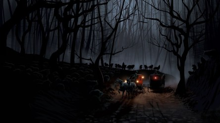 wolf dark background forest wallpapers