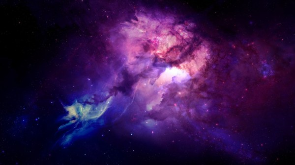 Purple Space Nebulae Wallpaper