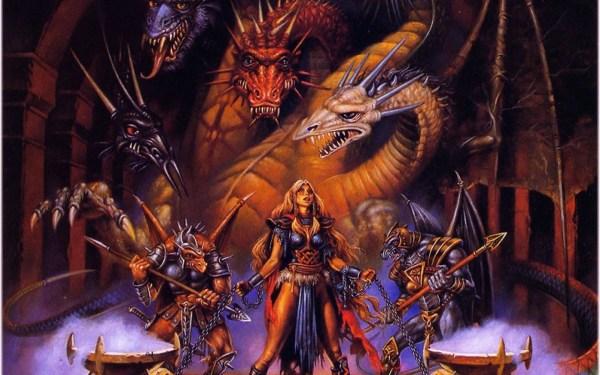 Clyde Caldwell Dragonlance