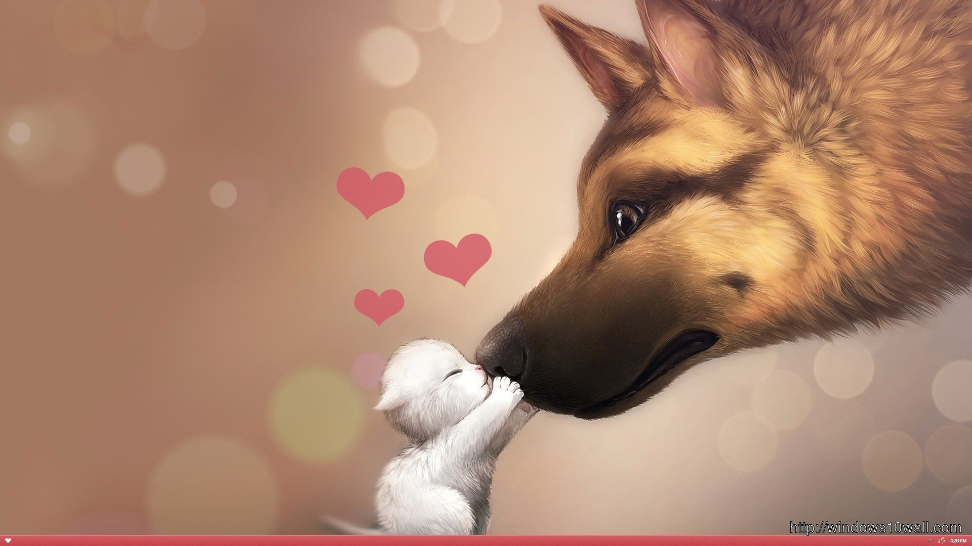Very Cute Puppy Wallpapers Valentines Day Dog Wallpaper 59 Images
