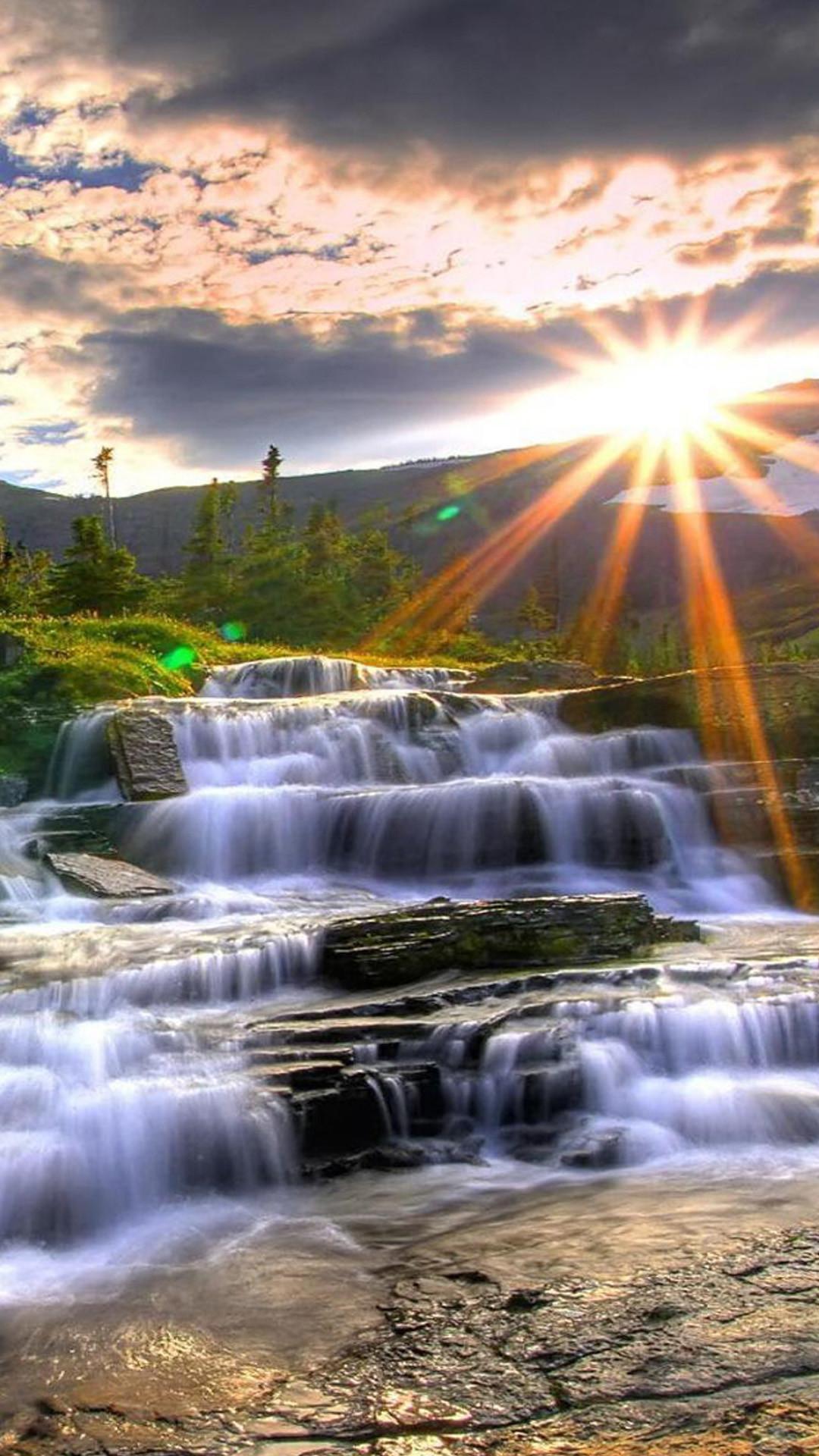 Beauty Girl Wallpapers Download Beautiful Waterfall Wallpaper 50 Images