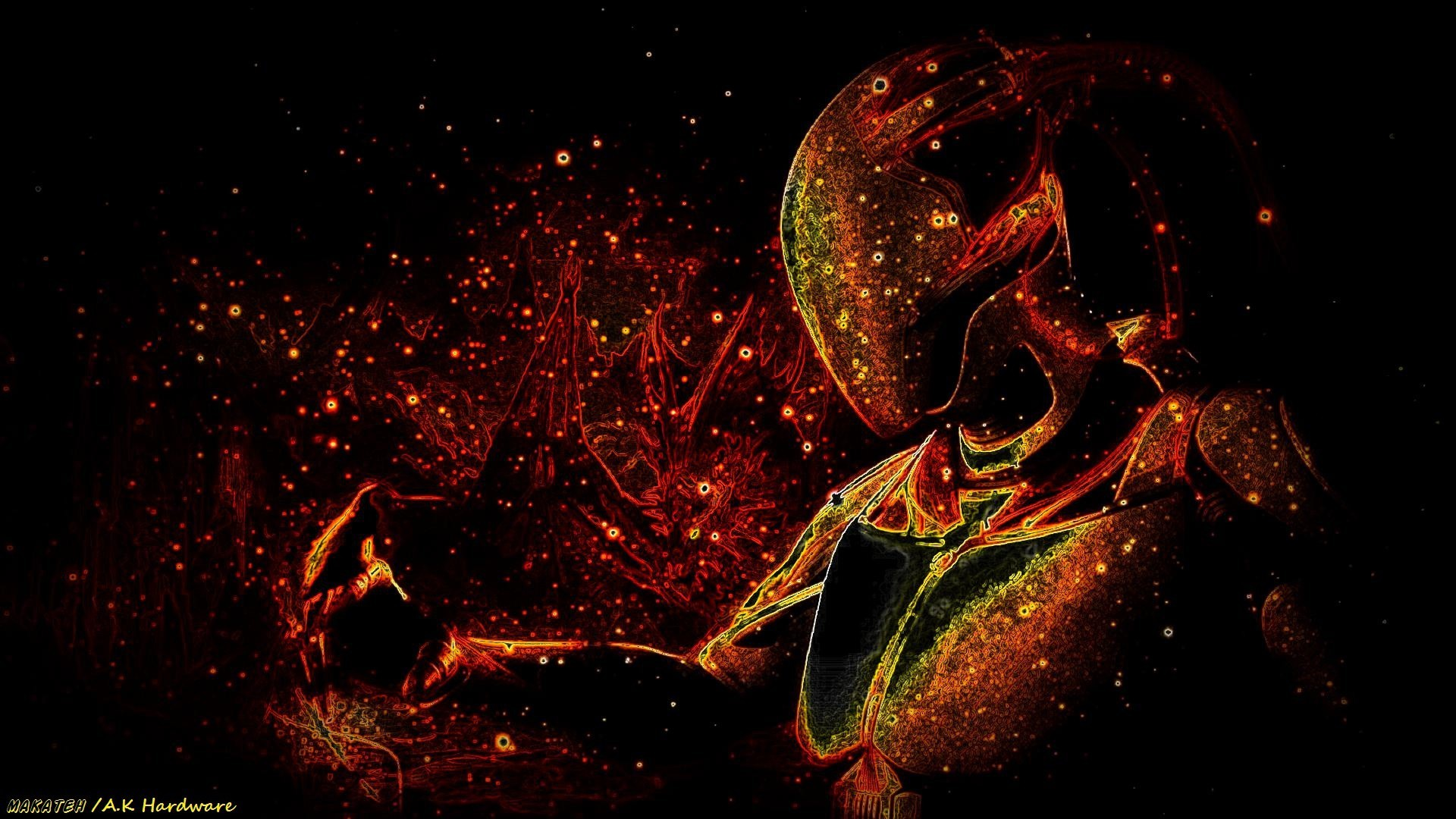 Red Star 3d Wallpaper Space Alien Wallpaper 74 Images