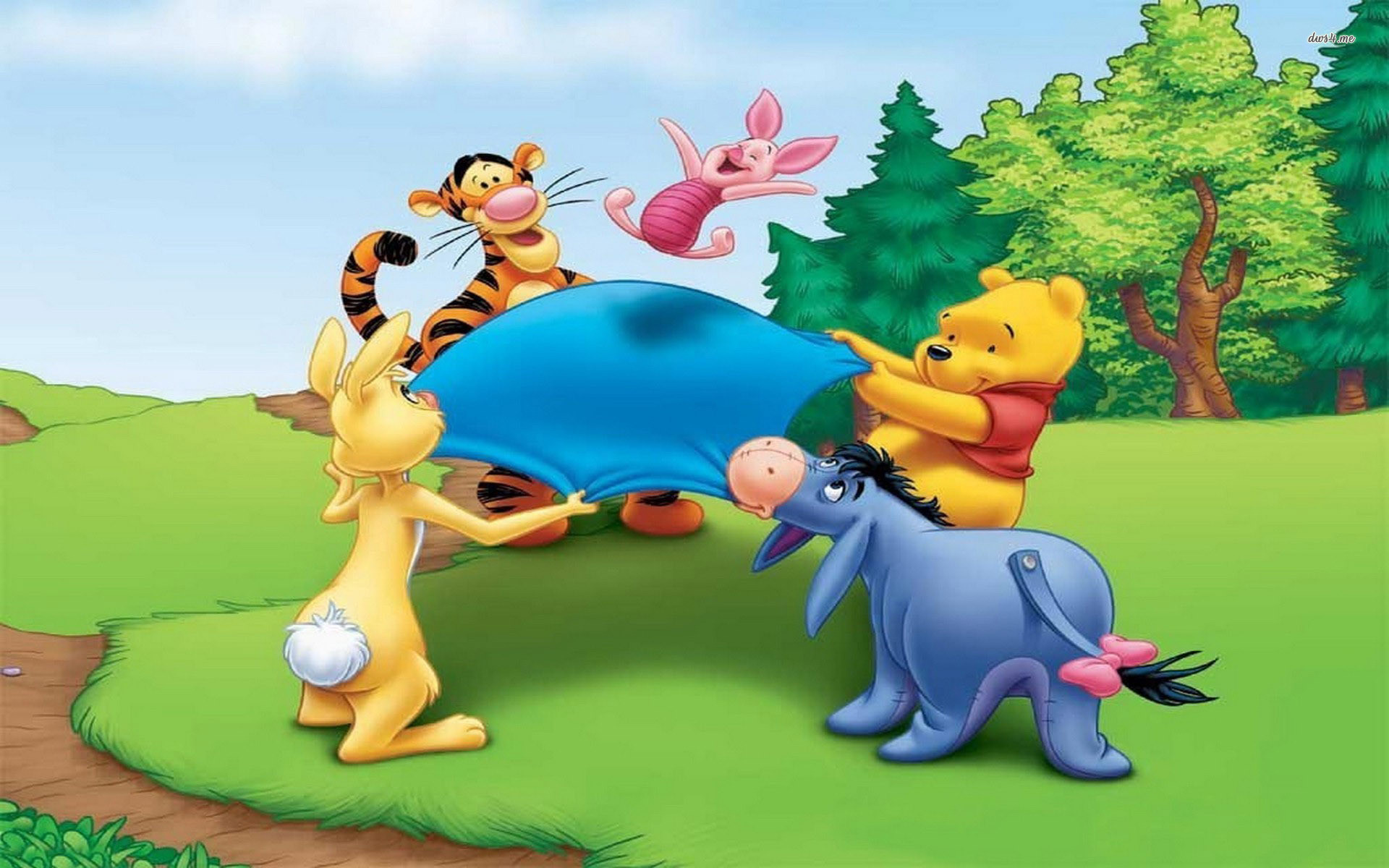 Winnie The Pooh Fall Desktop Wallpaper Winnie The Pooh Easter Wallpaper 64 Images