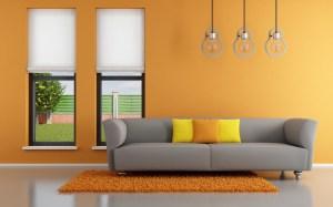 office desktop empty modern interior wallpapers