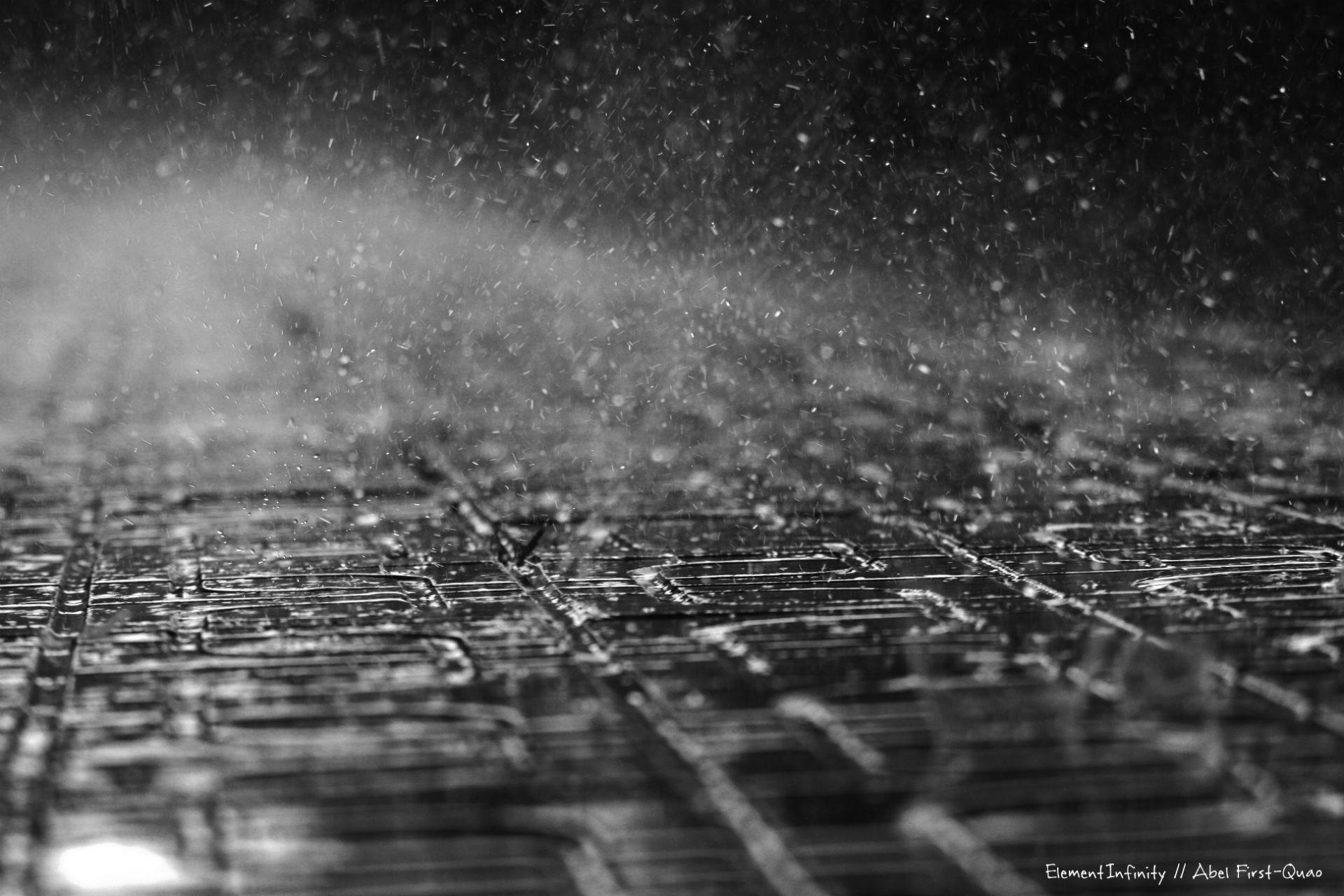 Raindrops Falling On Flowers Wallpaper Rain Storm Wallpaper 60 Images