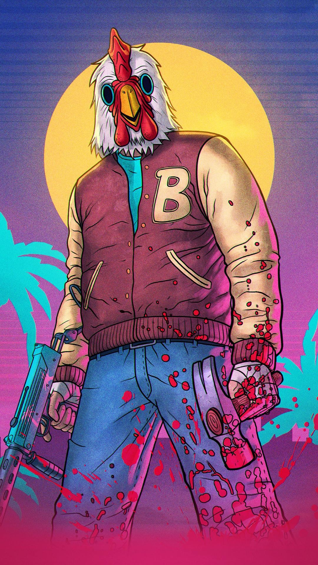 Vaporwave Wallpaper Girl Hotline Miami Wallpaper Hd 63 Images