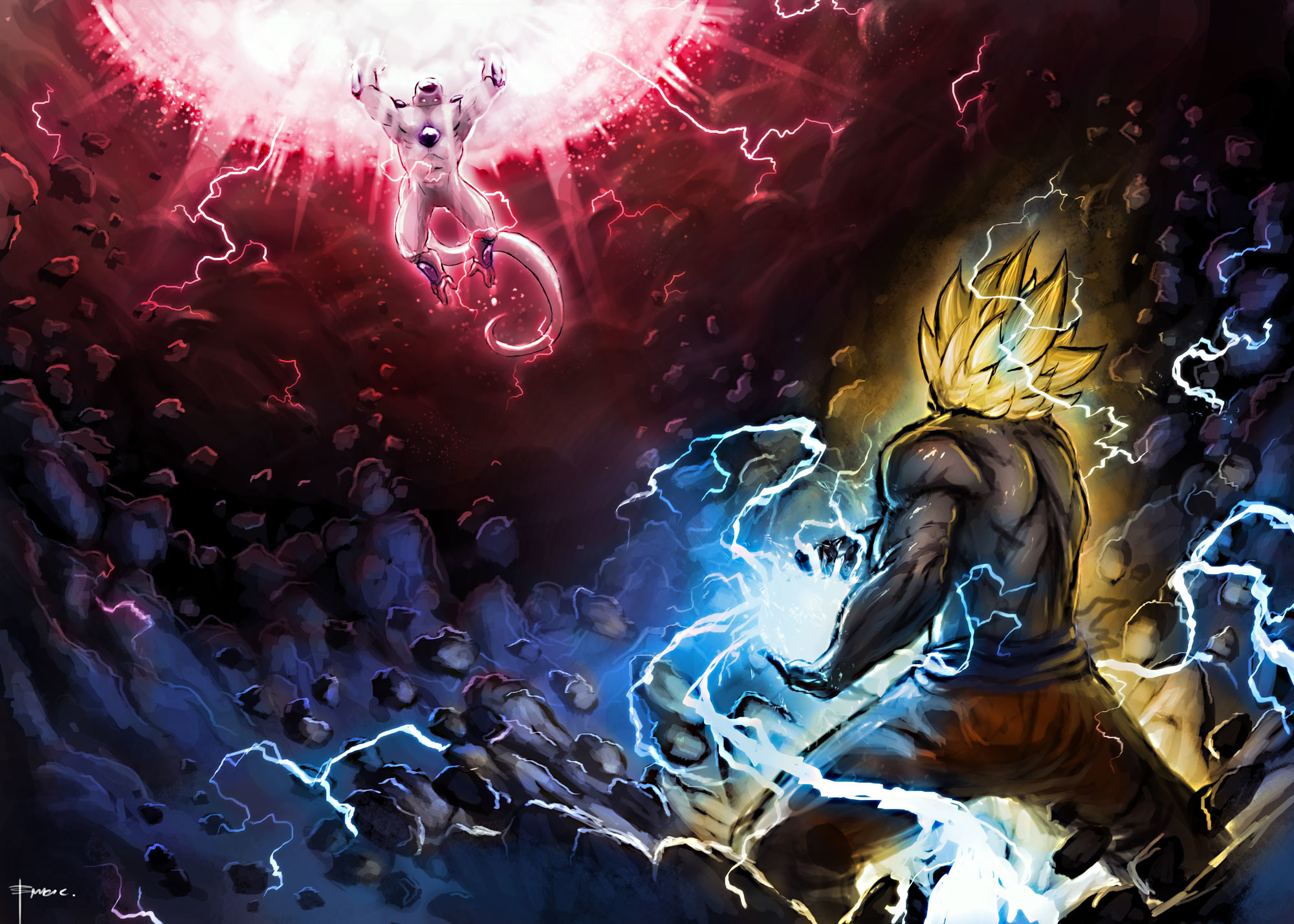 dbz hd wallpaper 1920x1080