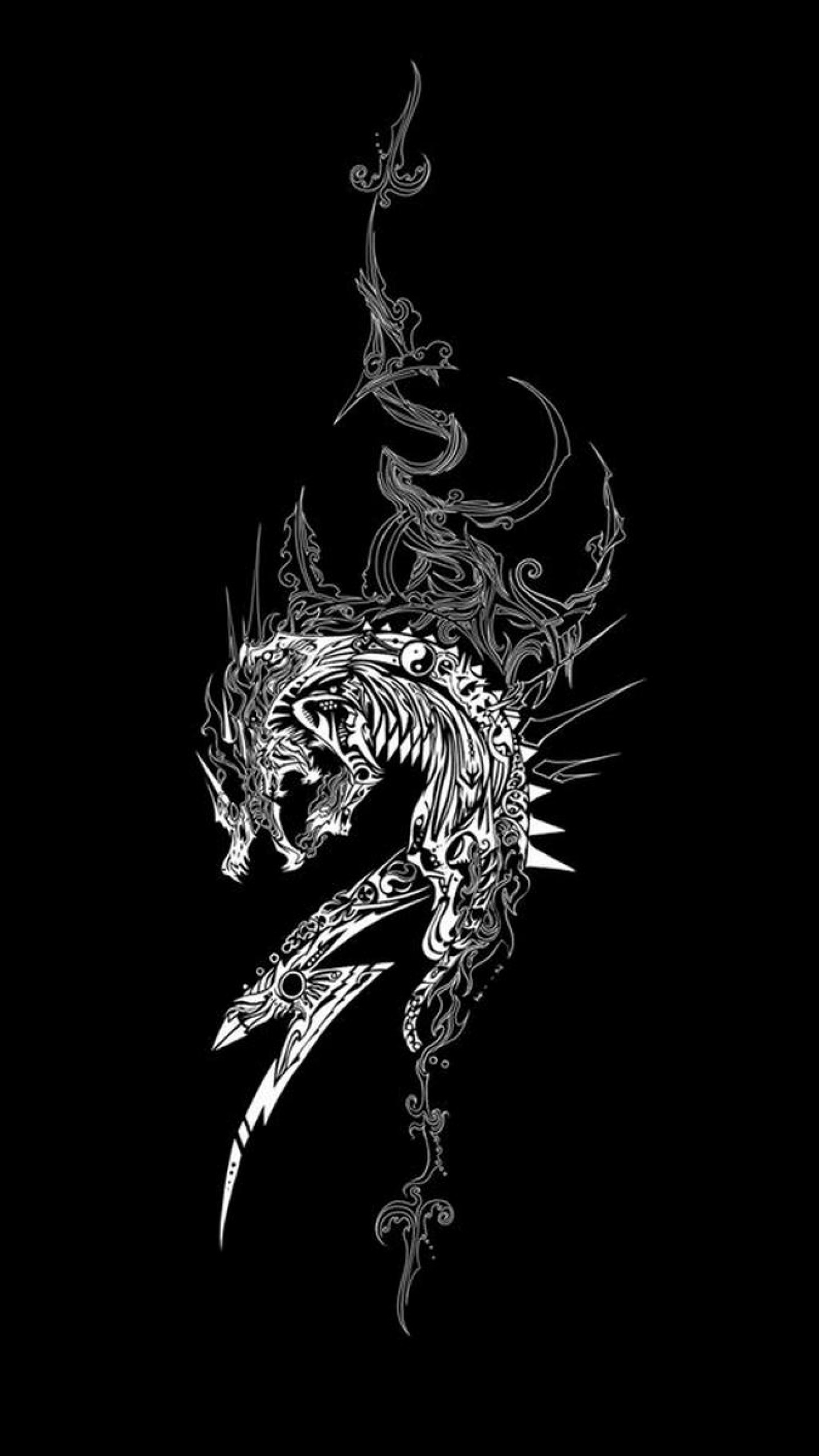 Galaxy S8 Quote Wallpaper White Dragon Wallpaper 76 Images