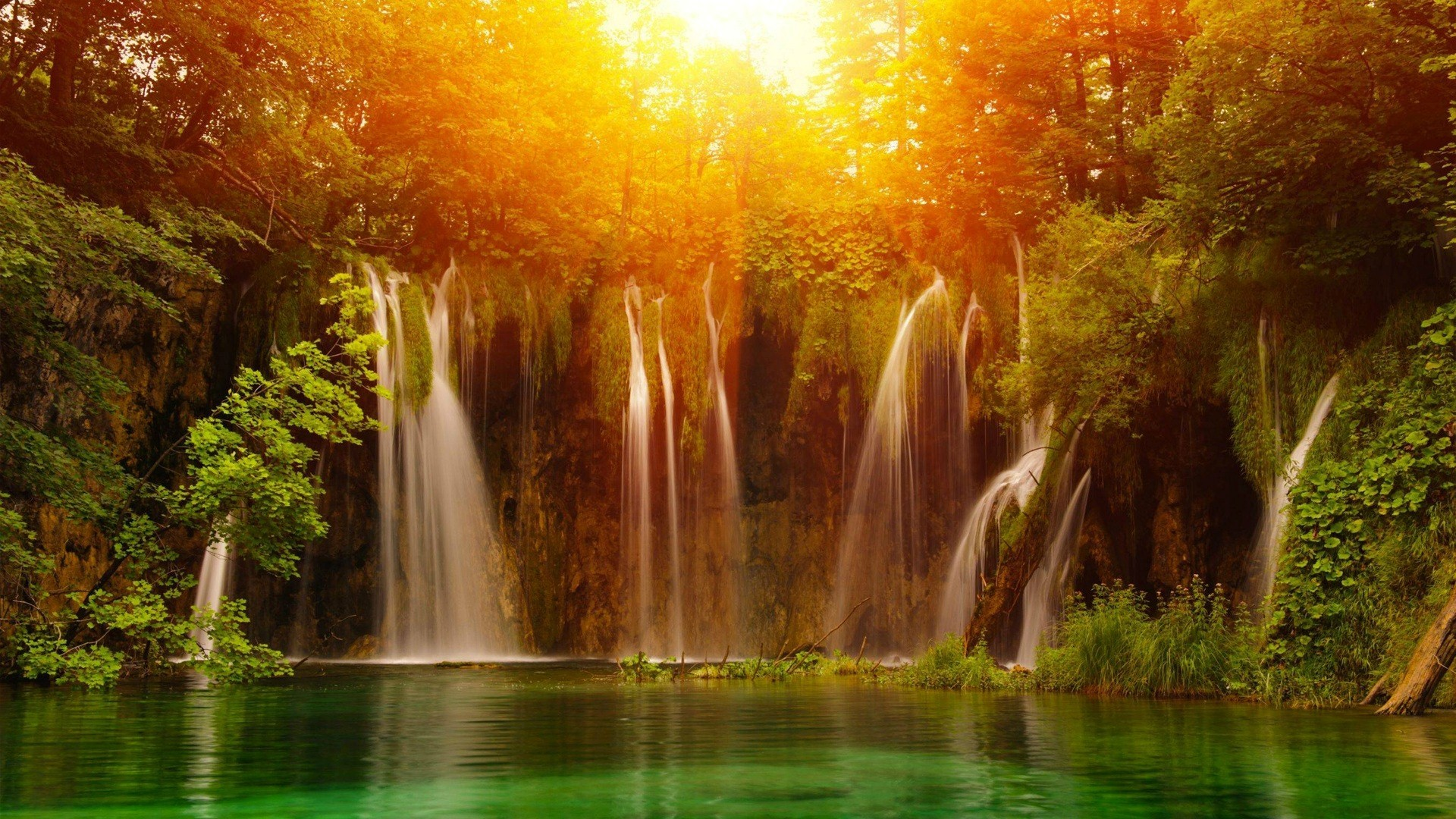 Free Beautiful Desktop Wallpapers For The Fall Waterfall Backgrounds 62 Images