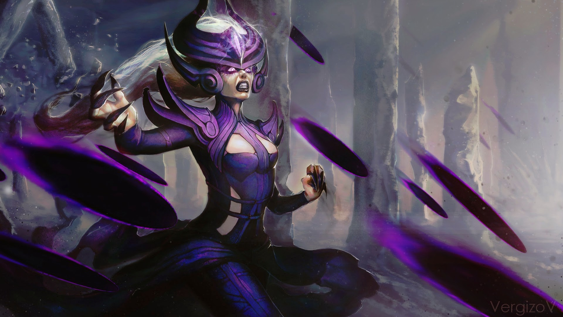 Lol Wallpapers Hd 1980x1080 Syndra Wallpaper 71 Images
