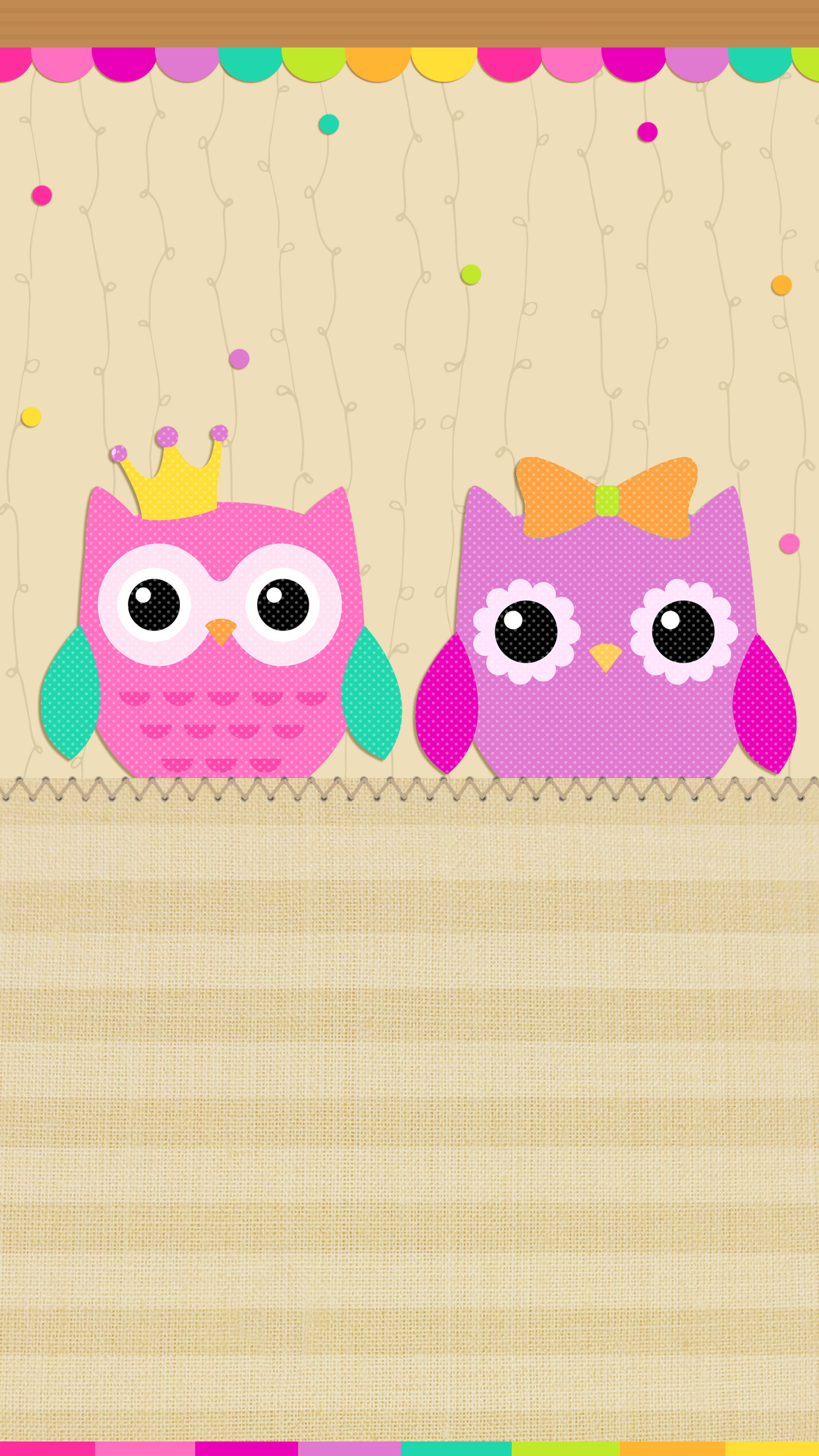 Cute Baby Girl With Guitar Wallpaper Cute Cartoon Owl Wallpaper 54 Images