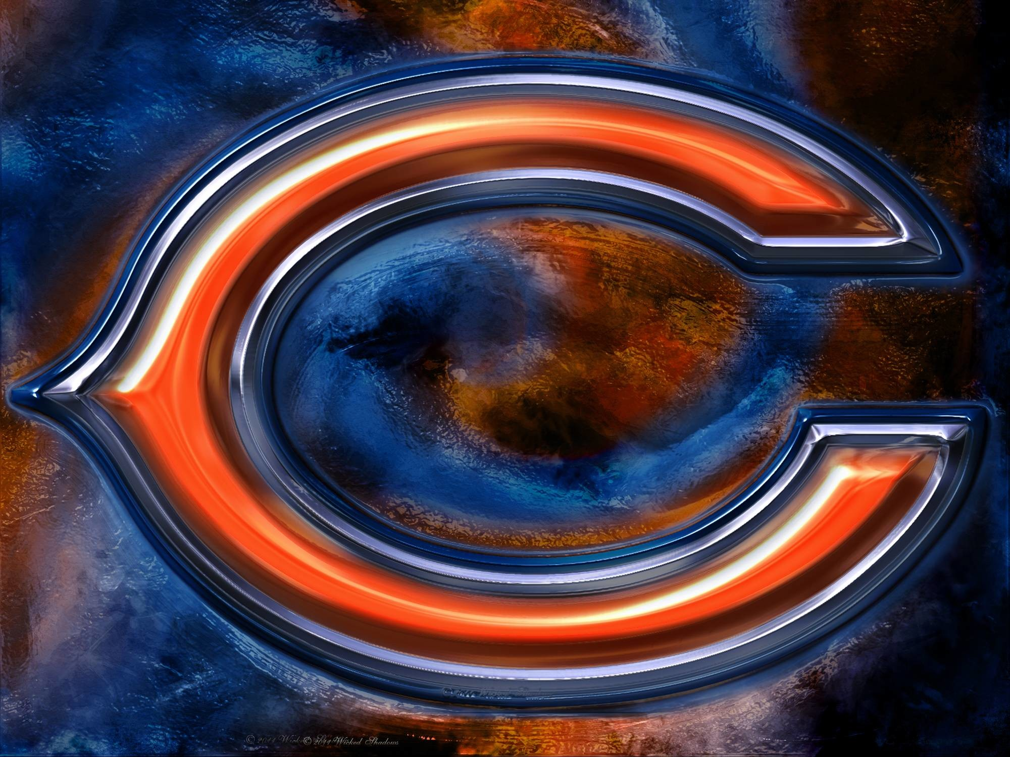 Chicago Bears Iphone X Wallpaper Chicago Bears Soldier Field Wallpaper 56 Images