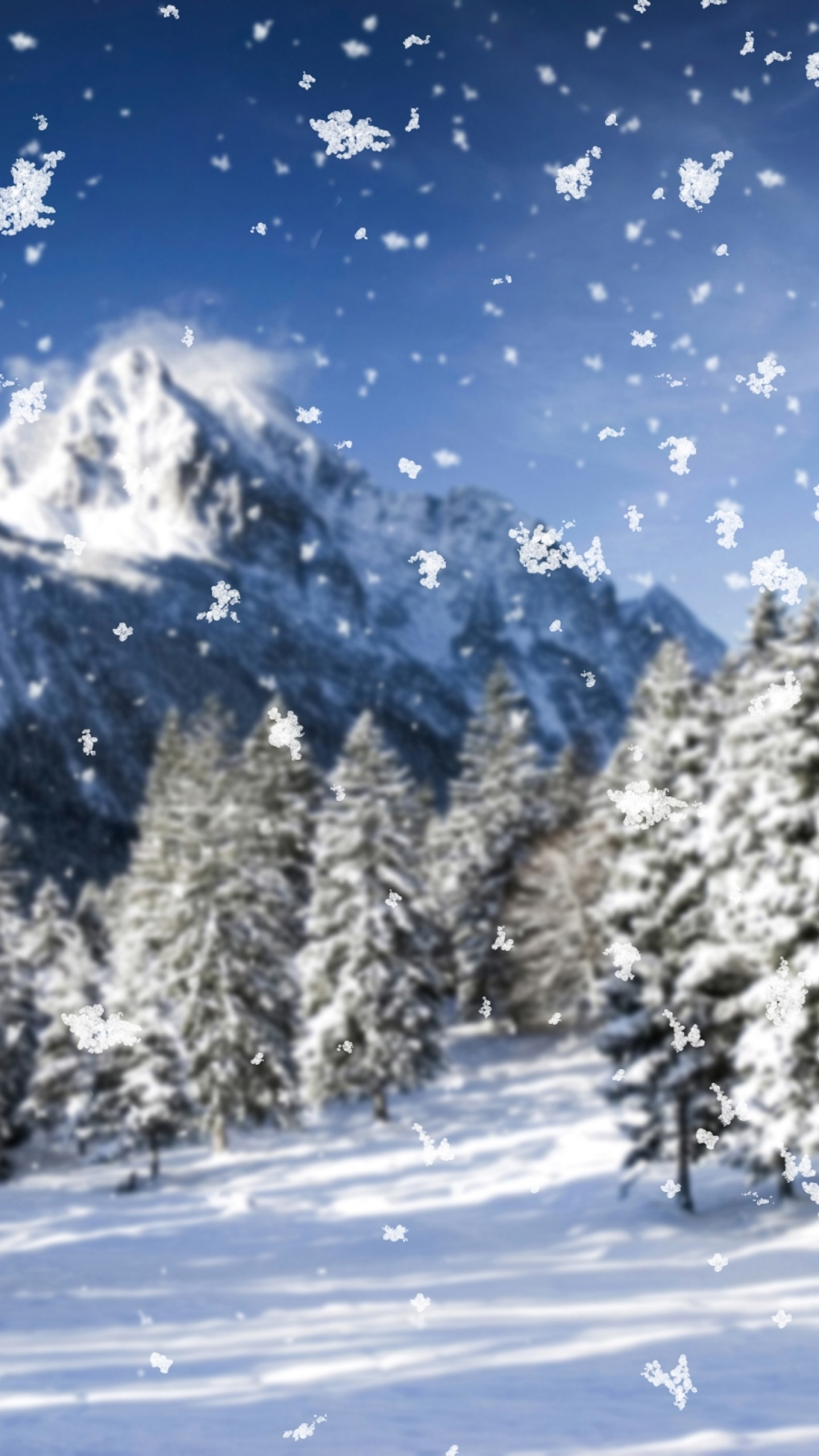 Windows 10 Wallpapers Hd Fall Snowfall Wallpaper 63 Images