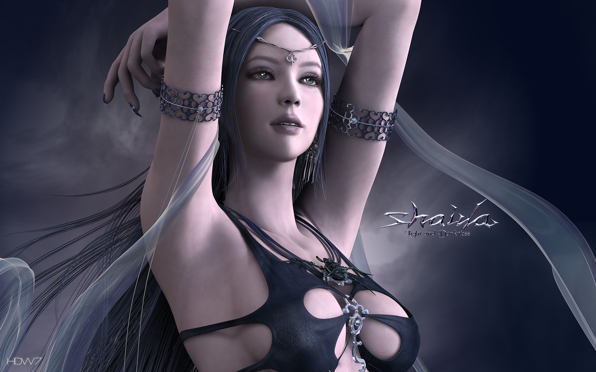 3d Hd Wallpapers Priestess Goddess Wallpapers 58 Images