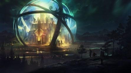 fantasy desktop wallpapers castle hd xpx