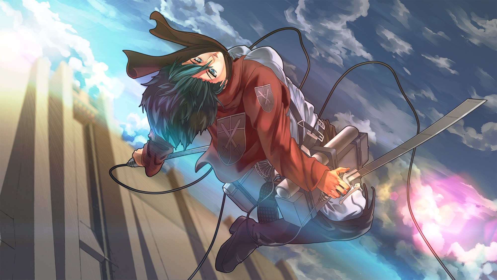 Enjoy our curated selection of 768 mikasa ackerman wallpapers and backgrounds from animes like attack on titan and attack on titan: Attack on Titan Mikasa Ackerman Wallpapers (82+ images)