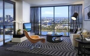 living cozy modern interior rooms brown brisbane apartments decorations tv chair milton propcafe wooden window desktop australia lobby resort properties