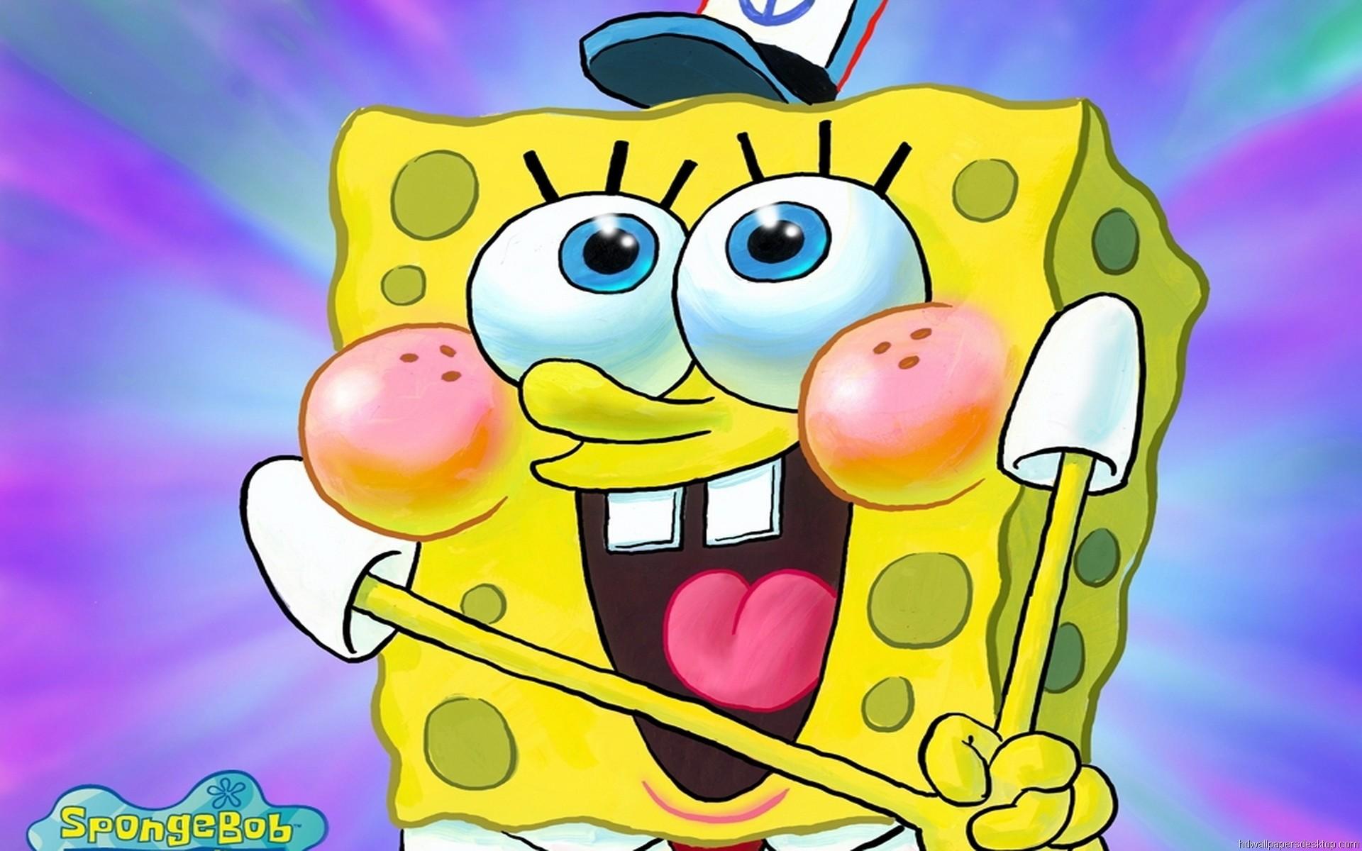 Cute Spongebob Cartoon Wallpaper Funny Spongebob Wallpaper 63 Images