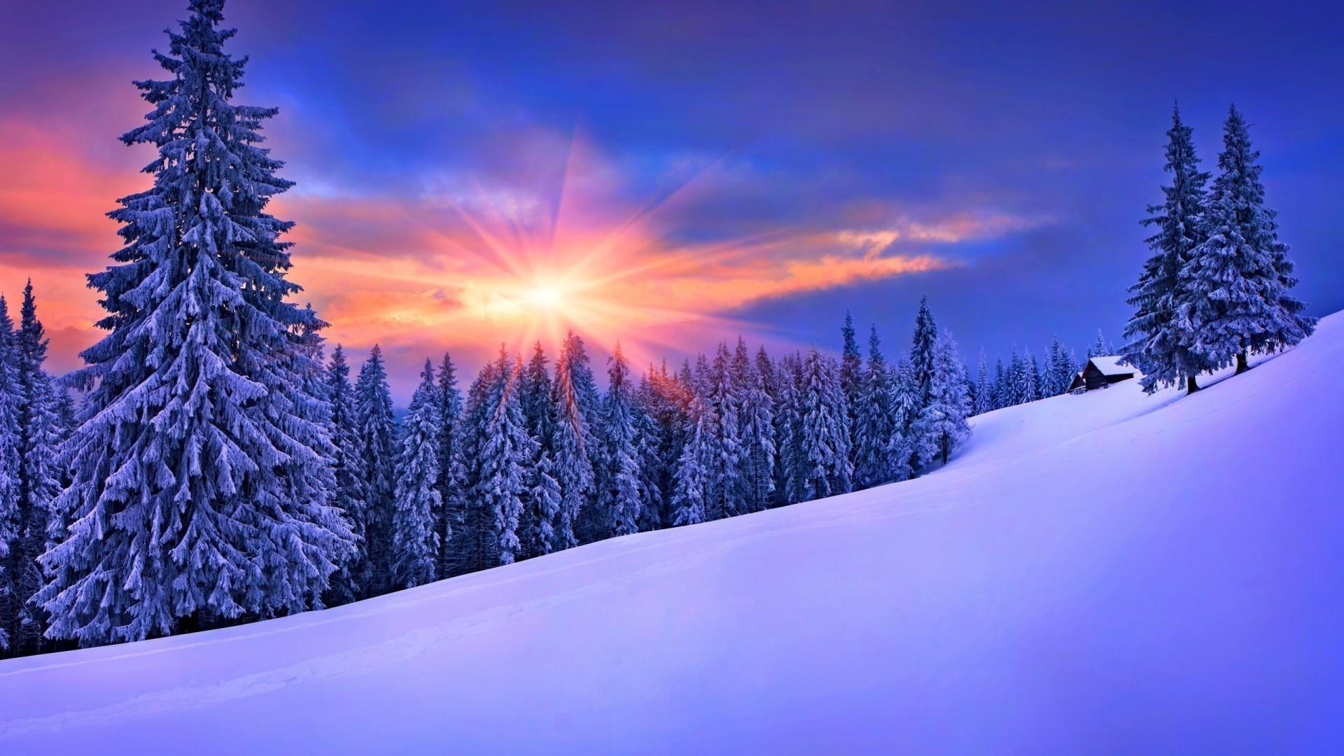 Winter Landscapes Desktop Wallpaper 1920x1080