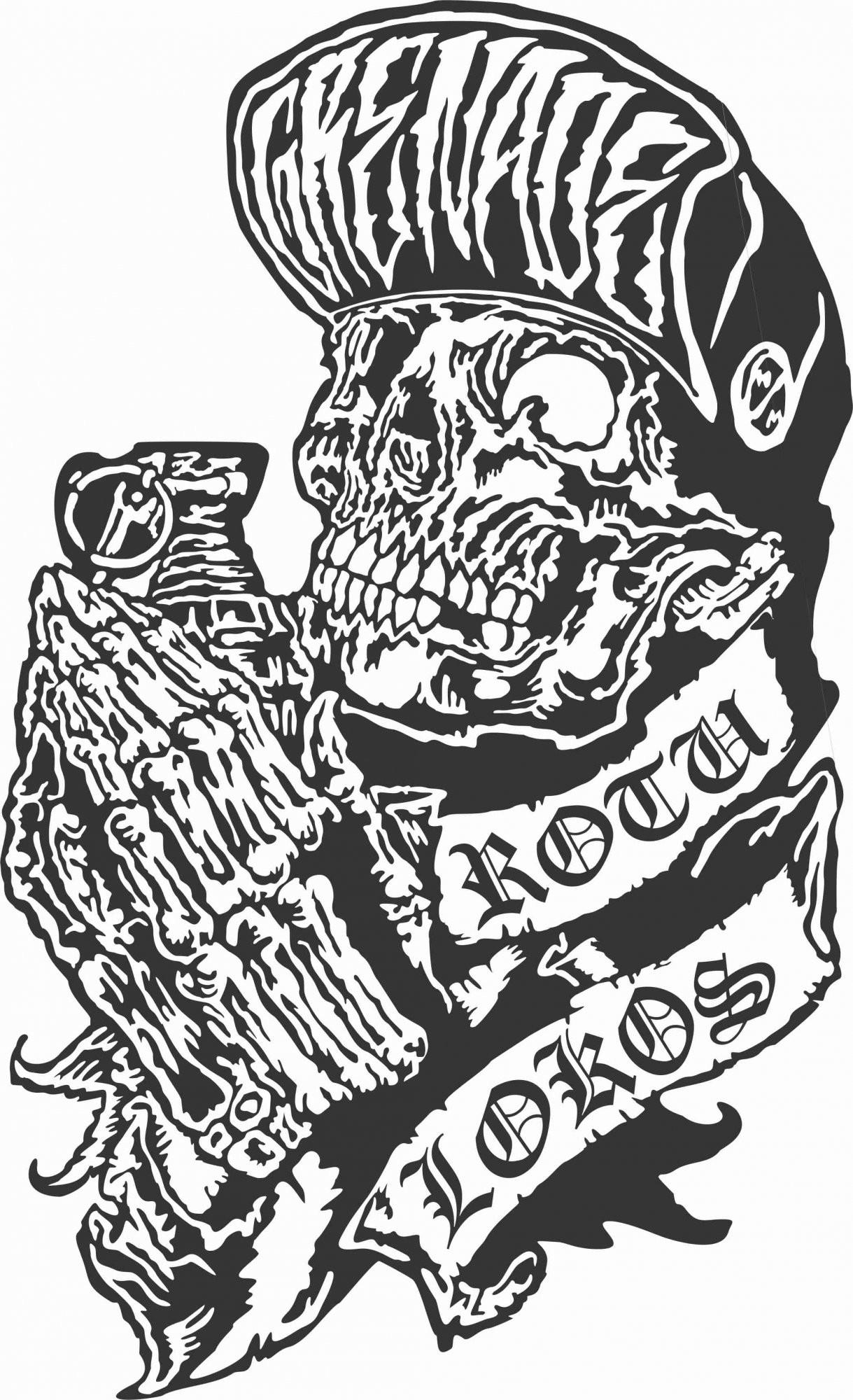 Awesome Metal Mulisha Logos