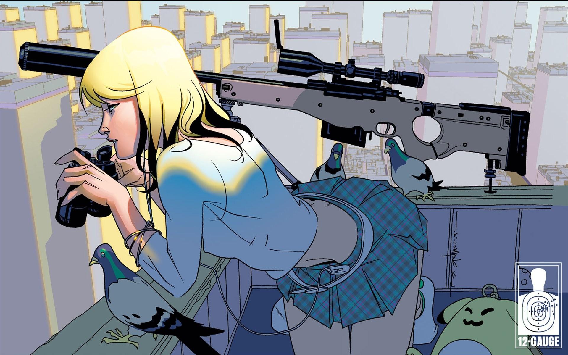 Gunslinger Girl 2 Desktop Wallpaper Anime Sniper Wallpaper 62 Images