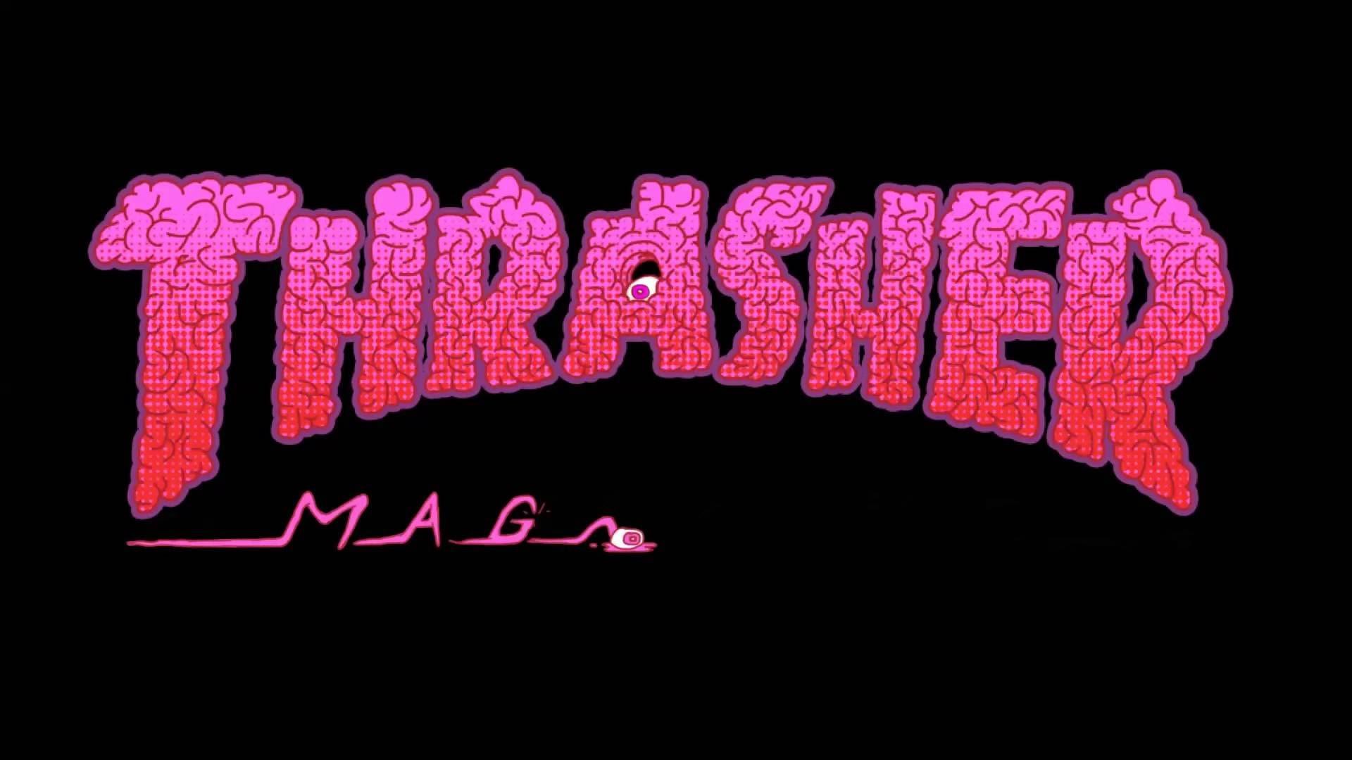 Skate Girl Wallpaper Iphone Thrasher Logo Wallpaper 57 Images
