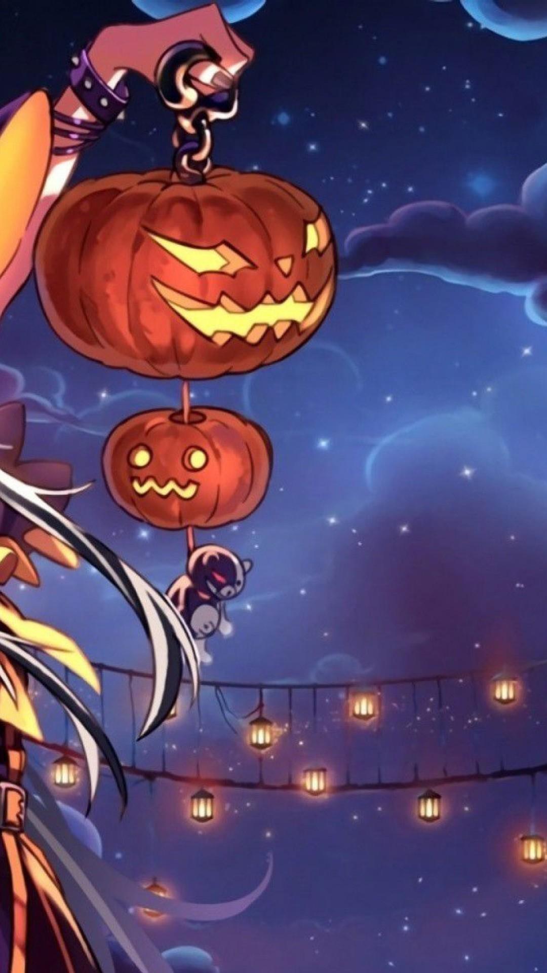 Smart Girl Wallpaper Download Halloween Anime Wallpaper 68 Images