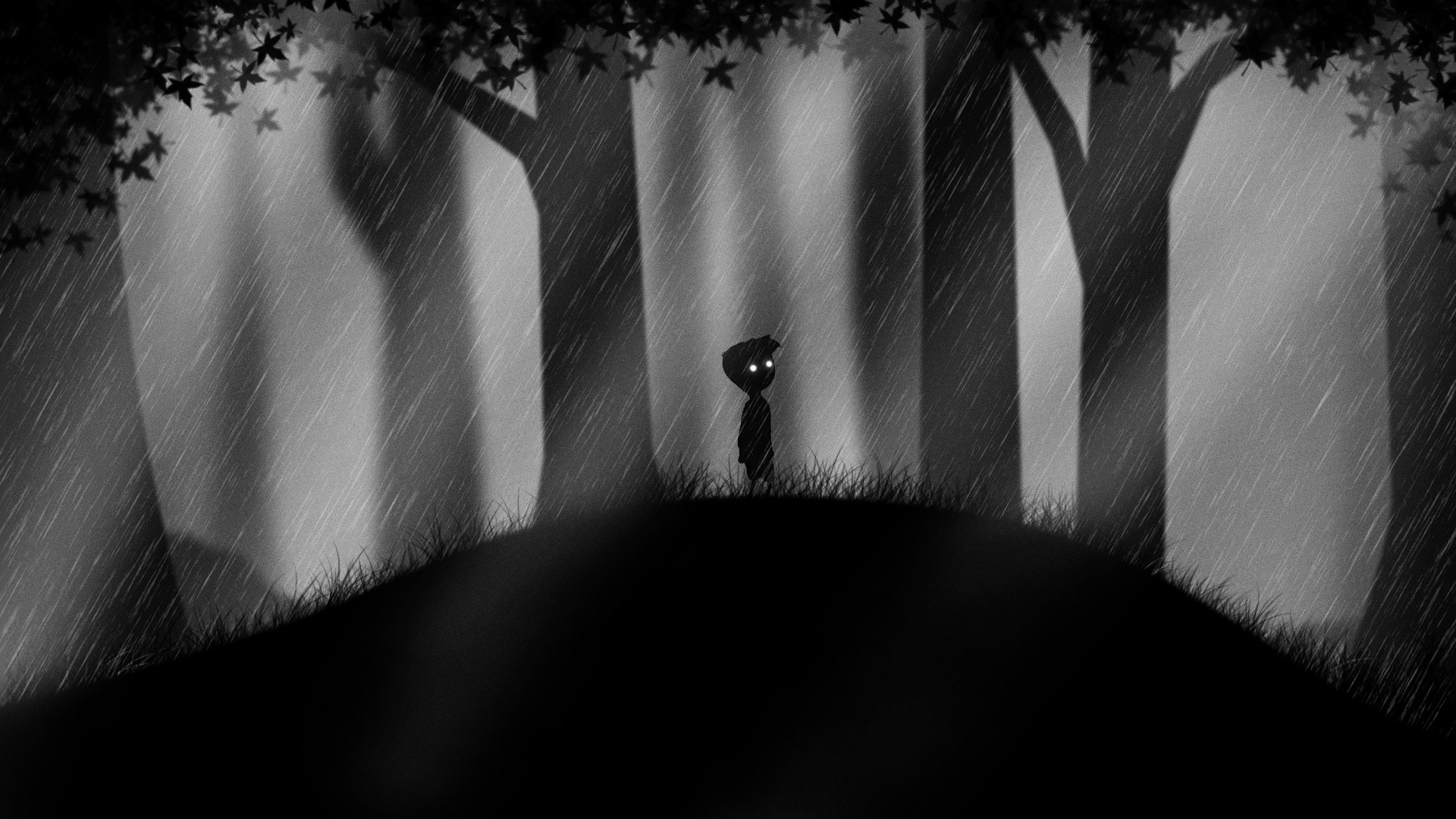 Scary Little Girl Wallpaper Rainy Forest Wallpaper 59 Images