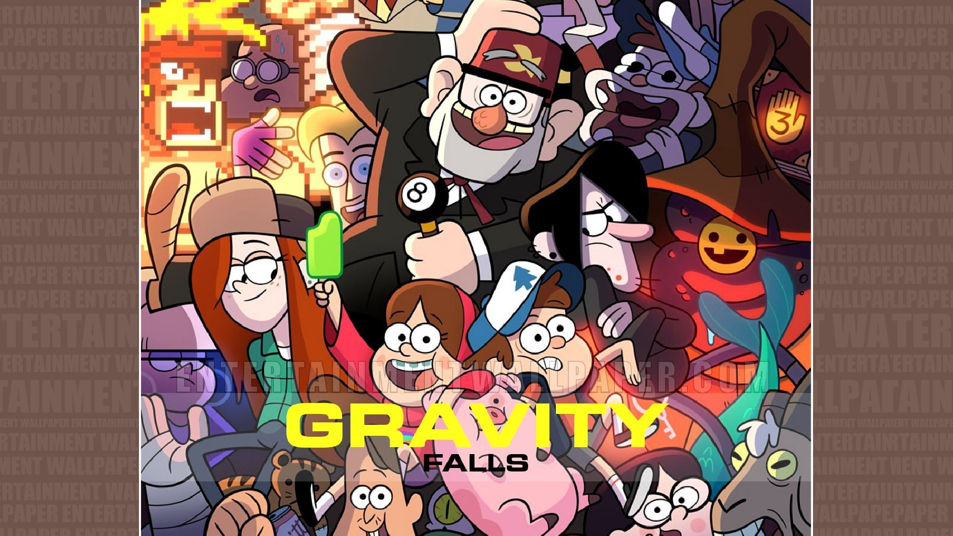 Gravity Falls Phone Wallpaper Gravity Falls Wallpaper Phone 71 Images