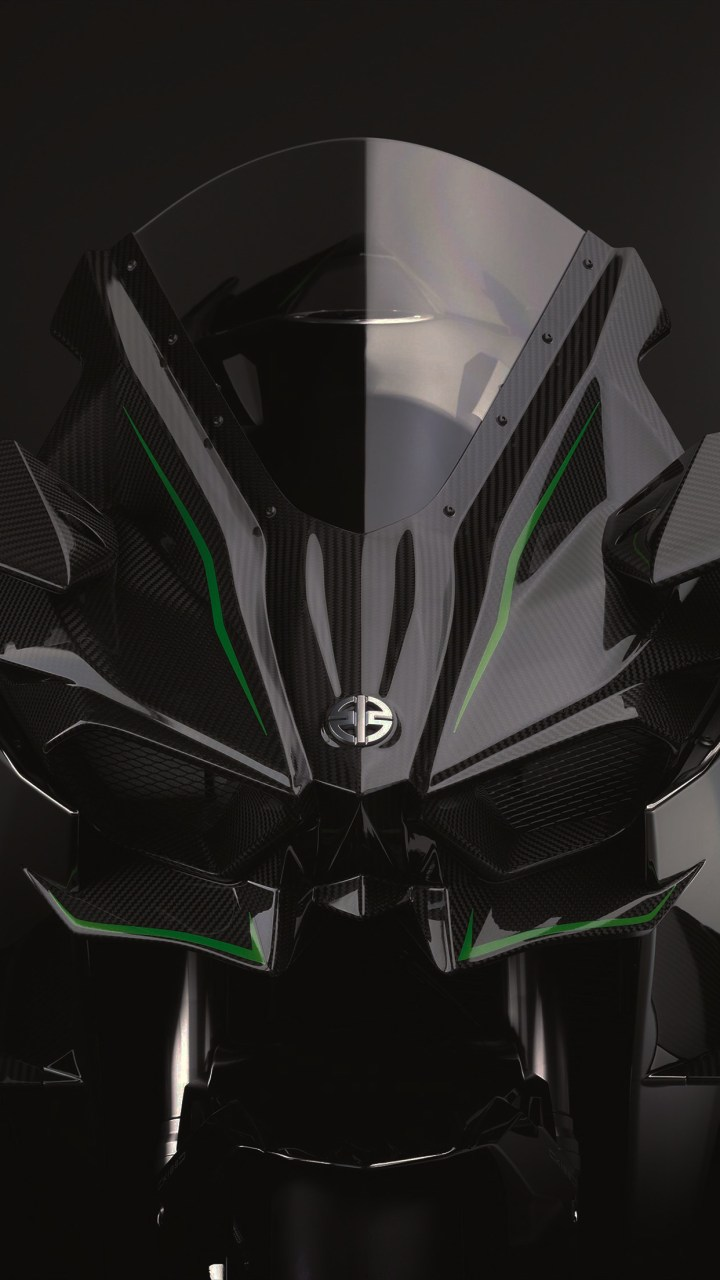 82 Kawasaki H2r Wallpaper Iphone Ninja