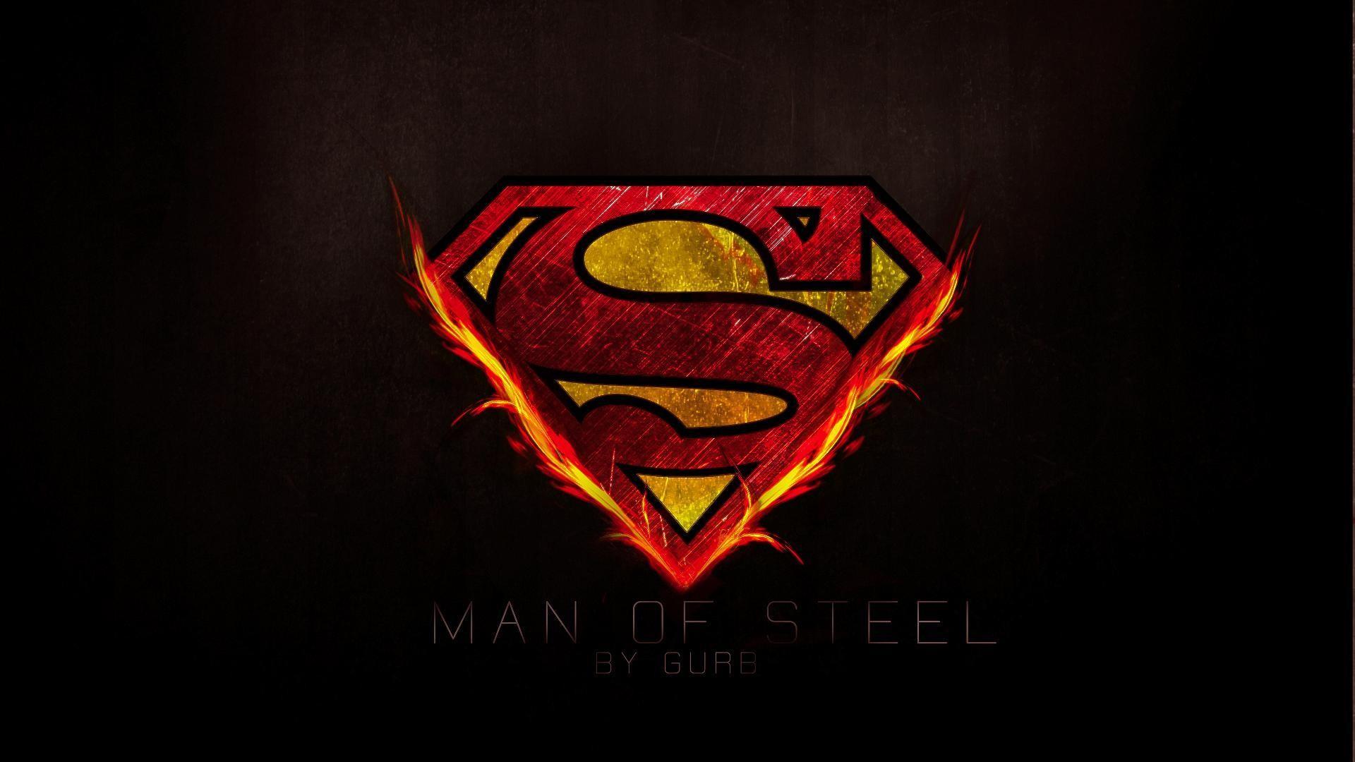 superman logo hd wallpaper