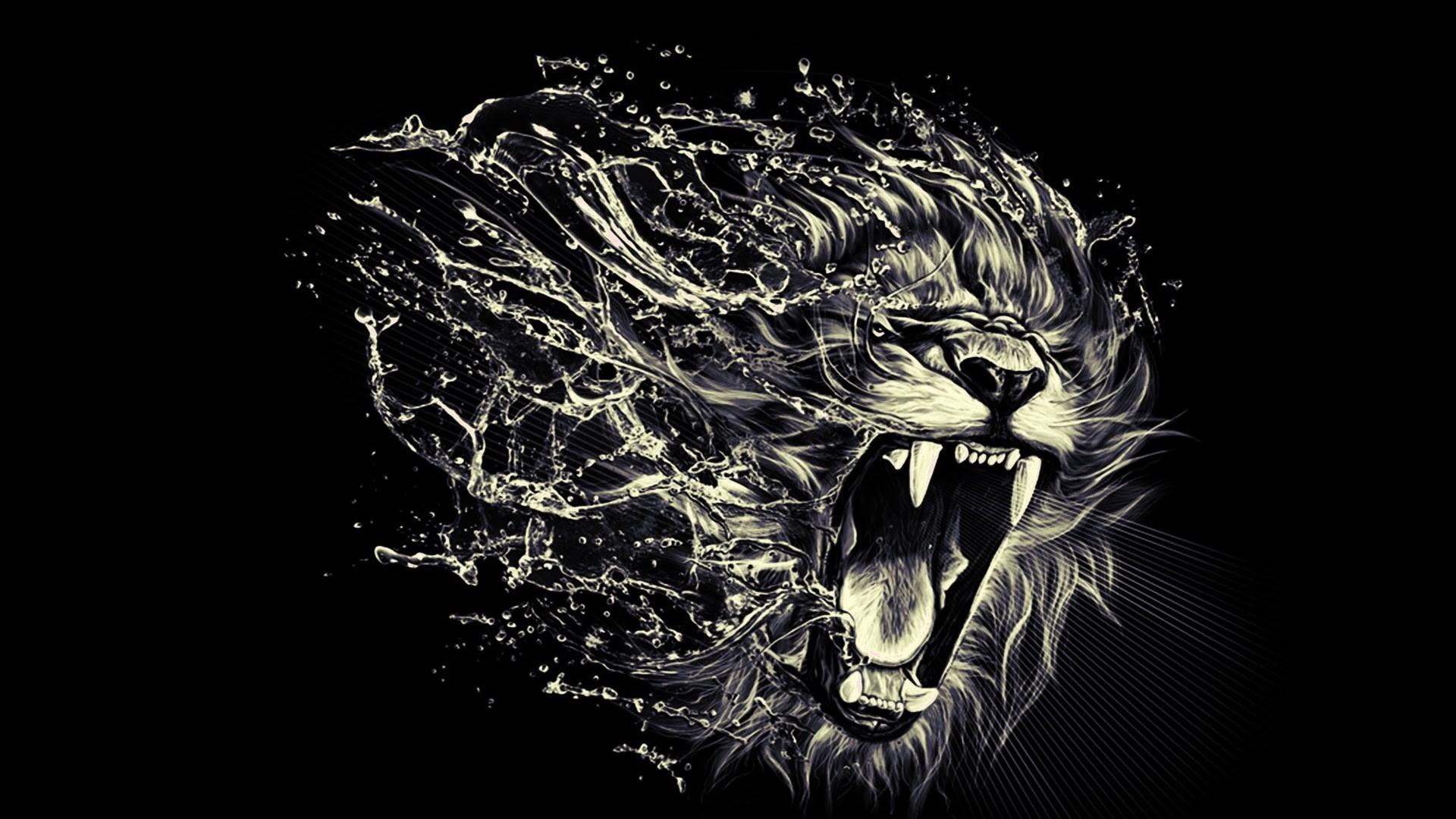 Lion Tattoo Hd Wallpaper