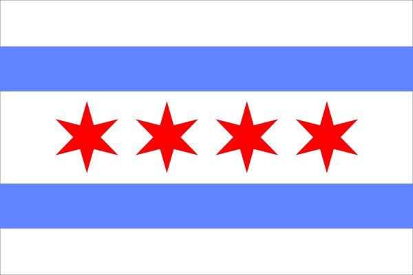 Chicago Flag Iphone Wallpaper 65