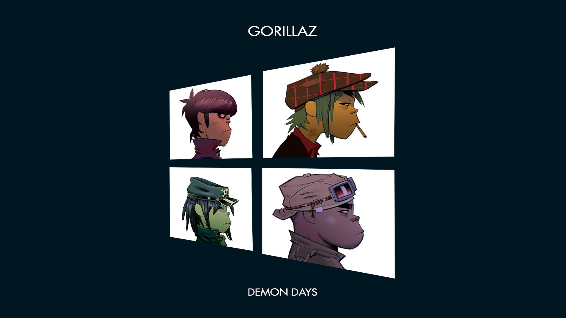 Gorillaz The Fall Wallpaper Feel Good Inc Wallpaper 72 Images