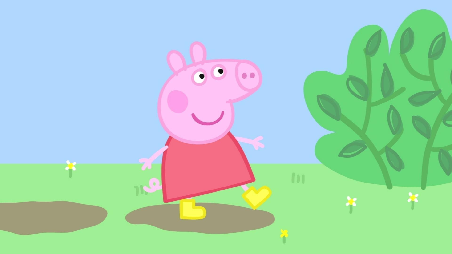 Peppa Pig HD Wallpaper 90 images