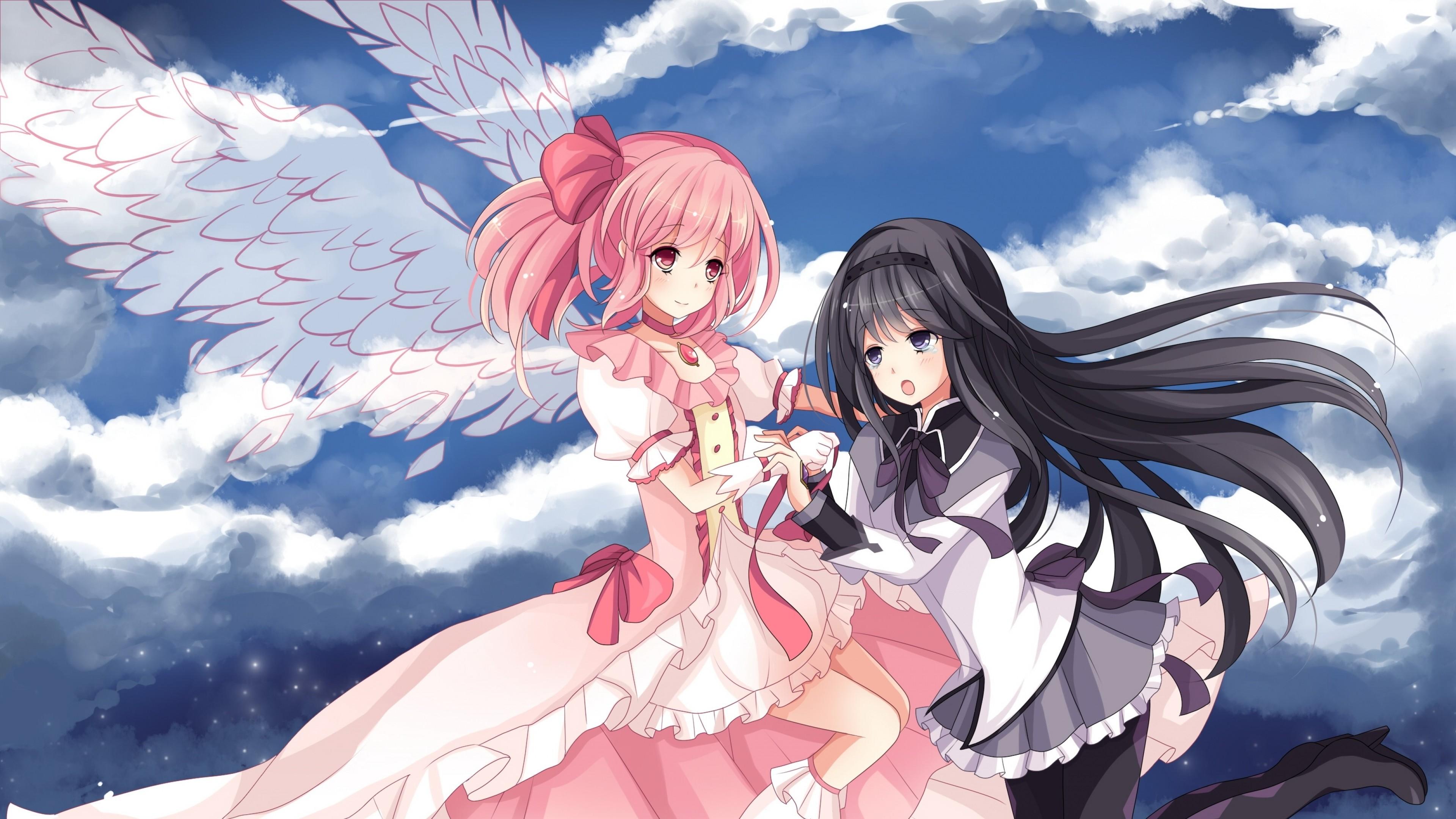 Hd Girl Gun Wallpapers 1080p Mahou Shoujo Madoka Magica Wallpaper 76 Images