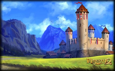 medieval castle widescreen kingdom fantasy castles majesty wallpapers backgrounds hd wallpapersafari sim