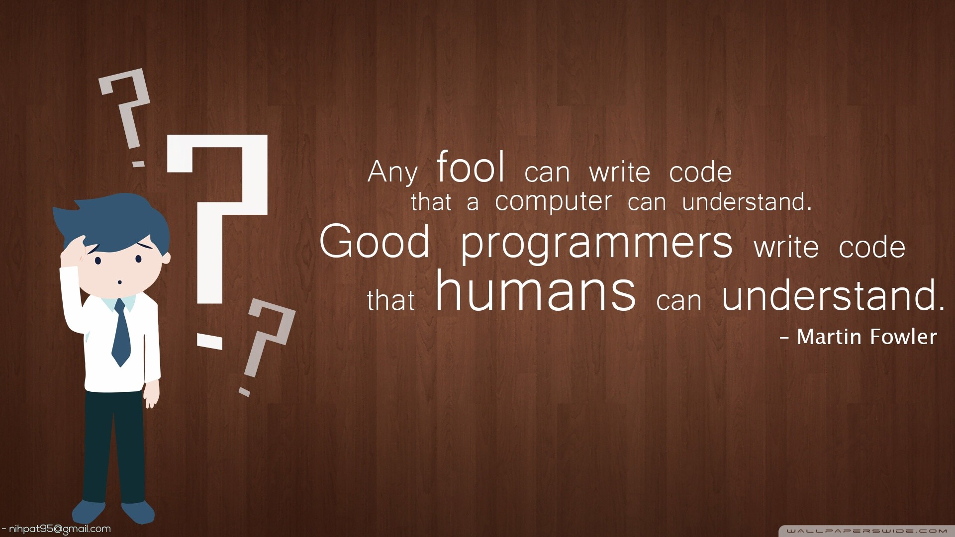 Programmer Quotes Wallpaper Hd Funny Written Wallpapers 66 Images