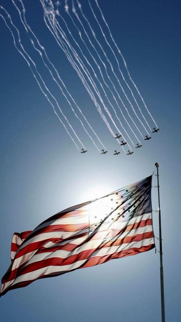 Patriotic Wallpaper American Flag