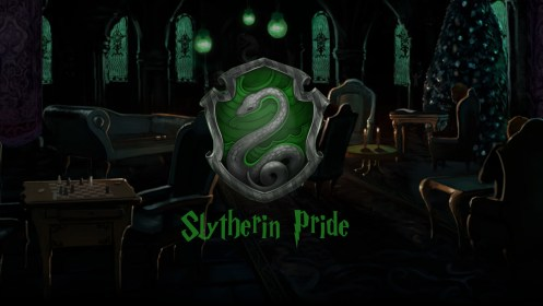 slytherin common room hogwarts crest wallpapers following movies deviantart wallpaperplay getwallpapers