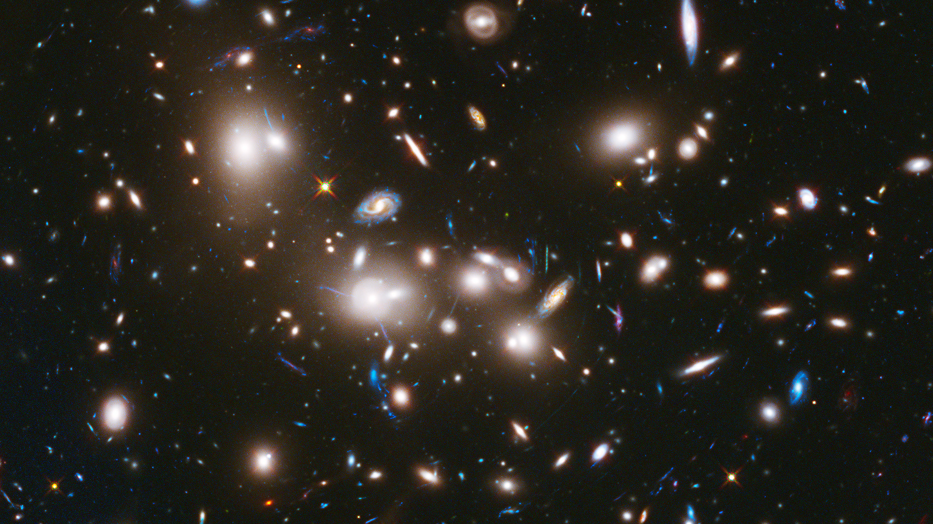 desktop wallpaper hubble deep