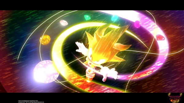 super sonic and hyper sonic in sonic 1 # 23