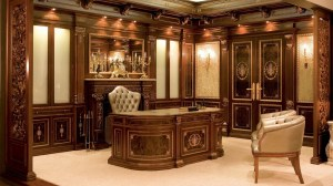 office interior backgrounds study chair cabinet empty desk wood desktop wallpapers furniture table antique wiki background 4k cabinets wooden