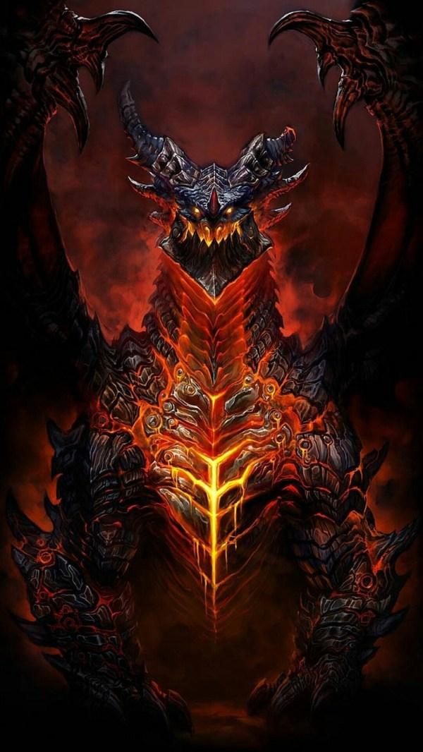 World of Warcraft Deathwing Artwork
