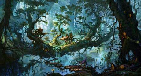 fantasy forest background hd favorite