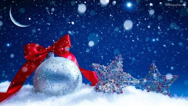 Winter Christmas Desktop Free Wallpaper