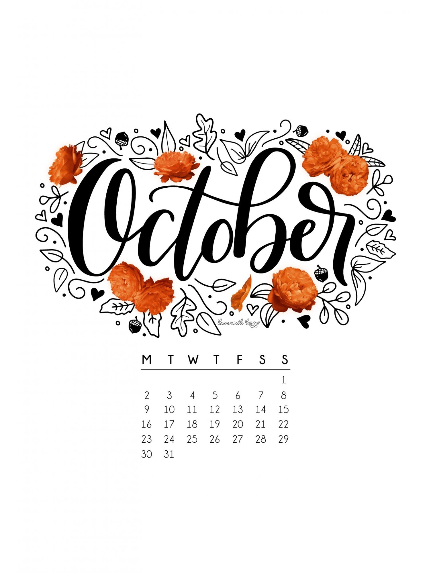 Hd Fall Wallpap Wallpapers With Calendar 2018 57 Images