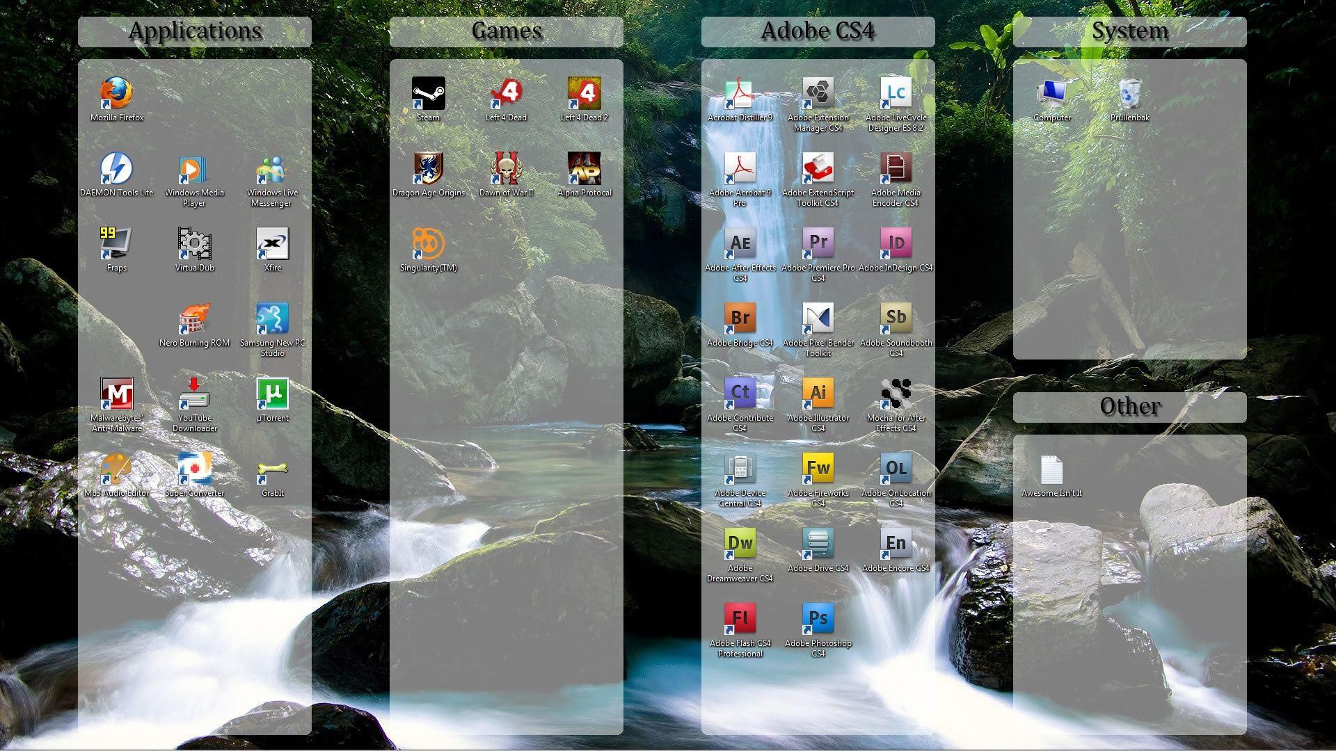 Iphone Wallpaper Organizer Computer Desktop Organizer Wallpaper 67 Images